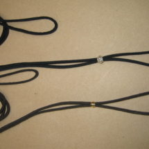 Lace Martingale Show Lead w/Swivel