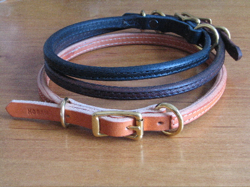 """1/2"""" Rolled Buckle Collar"""