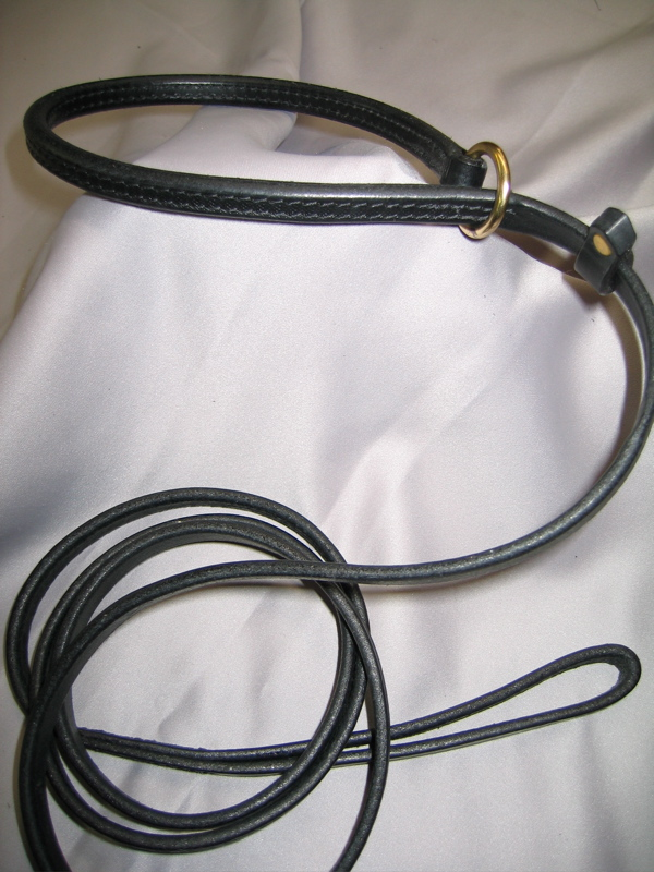 Rolled Throat Slip Leash