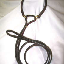Rolled Throat French Martingale Leash