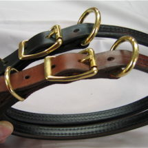 "3/4"" Large Breed Rolled Buckle Collar"