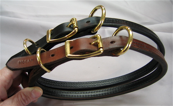 """3/4"""" Large Breed Rolled Buckle Collar"""