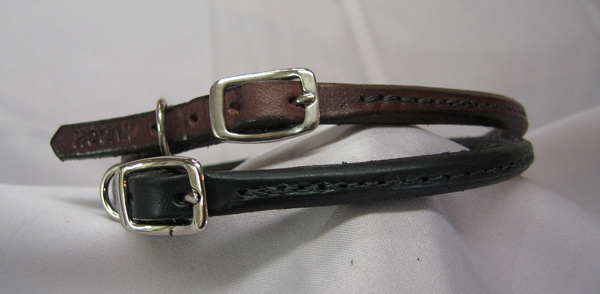 Small Breed Rolled Buckle Collar