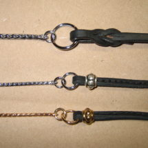 Custom Leather Dog Show Leads and Collars | Hogan Custom Leather