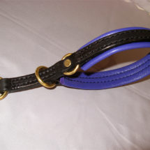 Padded Limited Choke Collar ~ Ring Stop
