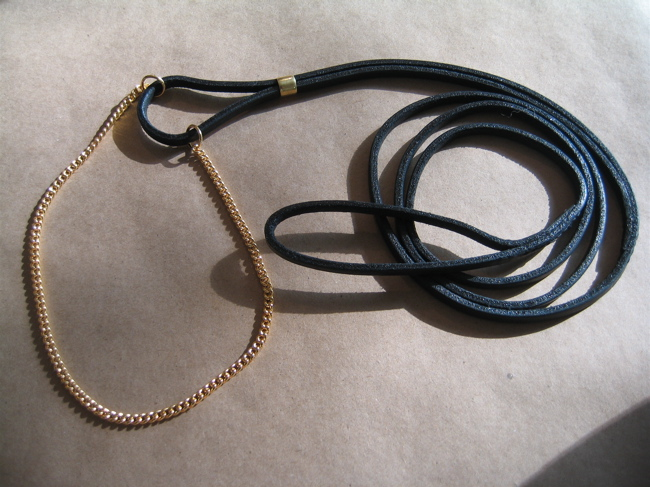 dog show leads and collars
