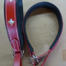 Swiss Cross~ Padded Limited Slip Collar