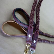 Swiss Cross 5 Plait Braided Leash